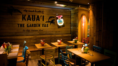 Kua 'Aina (Goodge Street), Surf Lounge
