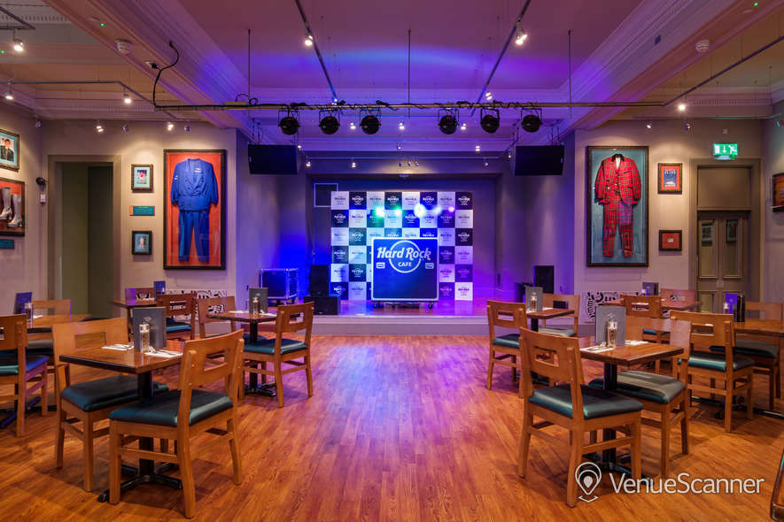 Hire Hard Rock Cafe Glasgow Live Lounge 5