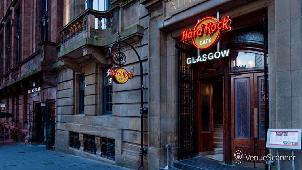 Hire Hard Rock Cafe Glasgow Live Lounge 1