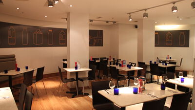 Pizzaexpress Russia Row, Basement Dining Room