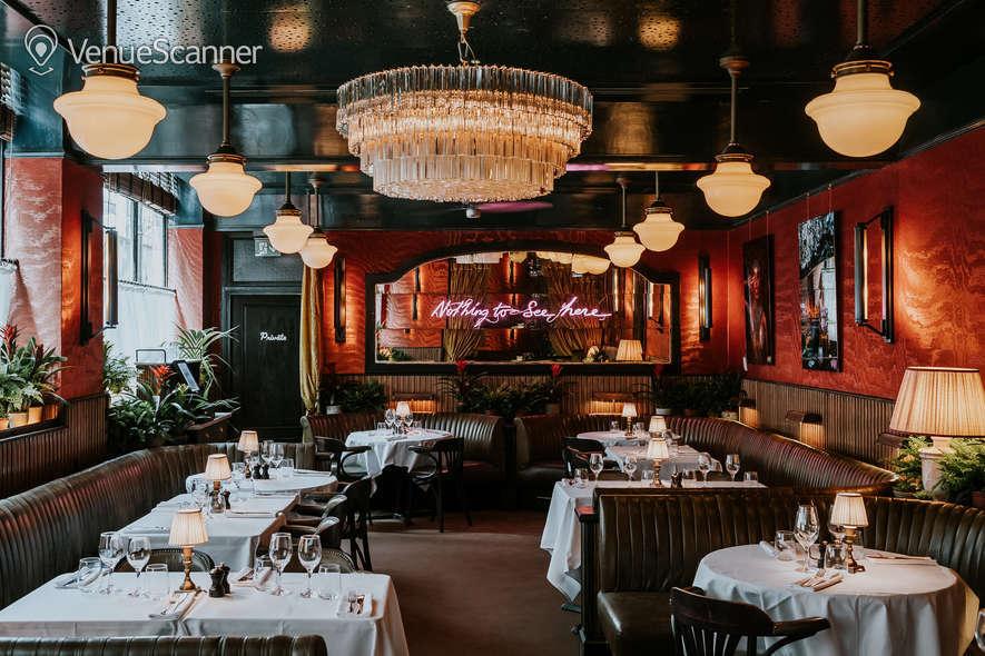 Hire Martha's Soho Dining Area