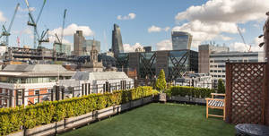 Vintners Hall, The Roof Garden