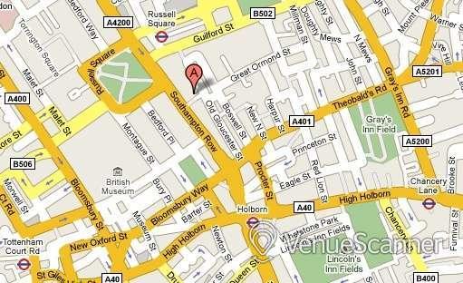 Hire Mercure London Bloomsbury The Boardroom 9