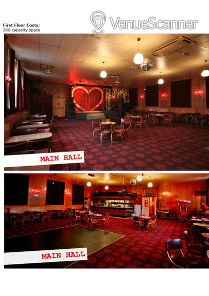 Hire The Workingmens Club First Floor Main Hall