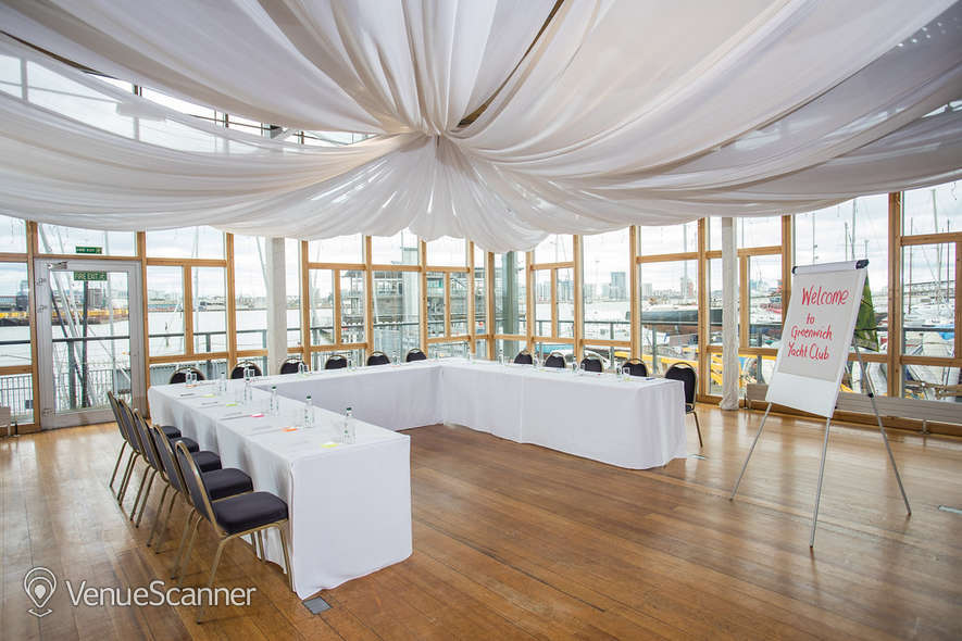 Hire Greenwich Yacht Club The River Rooms