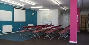 The Faith & Belief Forum, Training Room