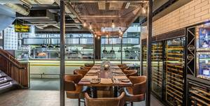Heddon Street Kitchen, Kitchen Table