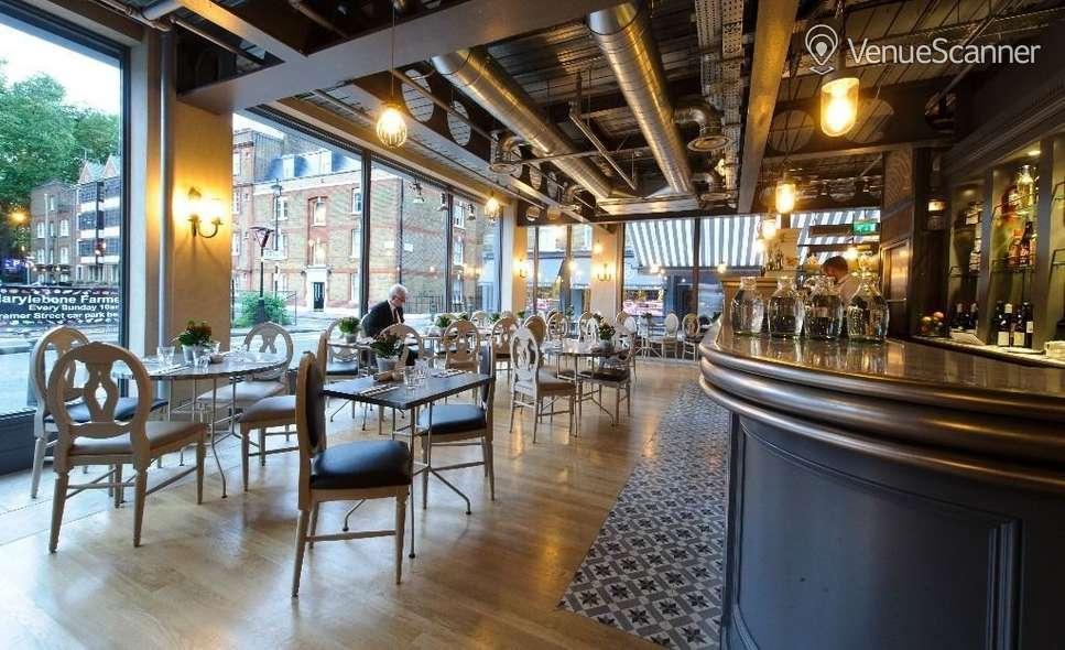 venue hire aubaine marylebone private dining room