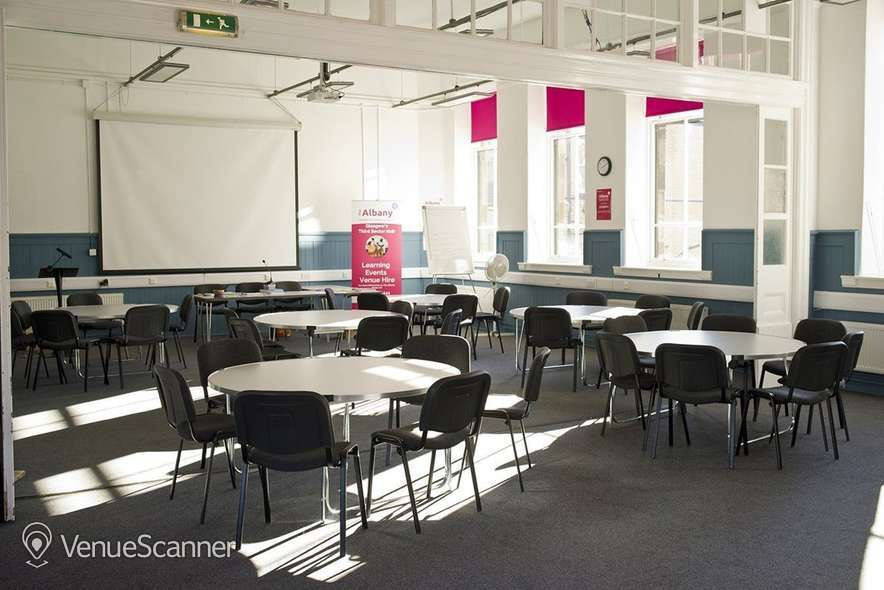Hire The Albany Learning And Conference Centre Glasgow The Woodlands Training Room