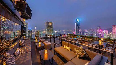 Wooloomooloo Steakhouse Wan Chai, Rooftop Bar
