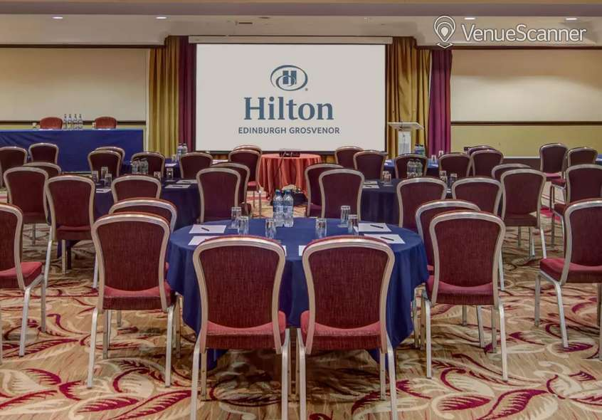 Hire Hilton Edinburgh Grosvenor Roseberry Suite
