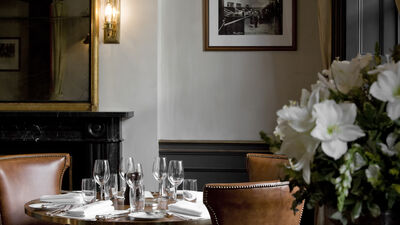 Christmas at The Alfred Tennyson, The First Floor Dining Room