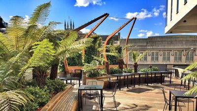 Lyric Hammersmith Theatre, The Roof Garden