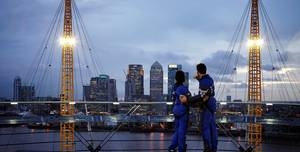 Up At The O2, The Roof Of The O2