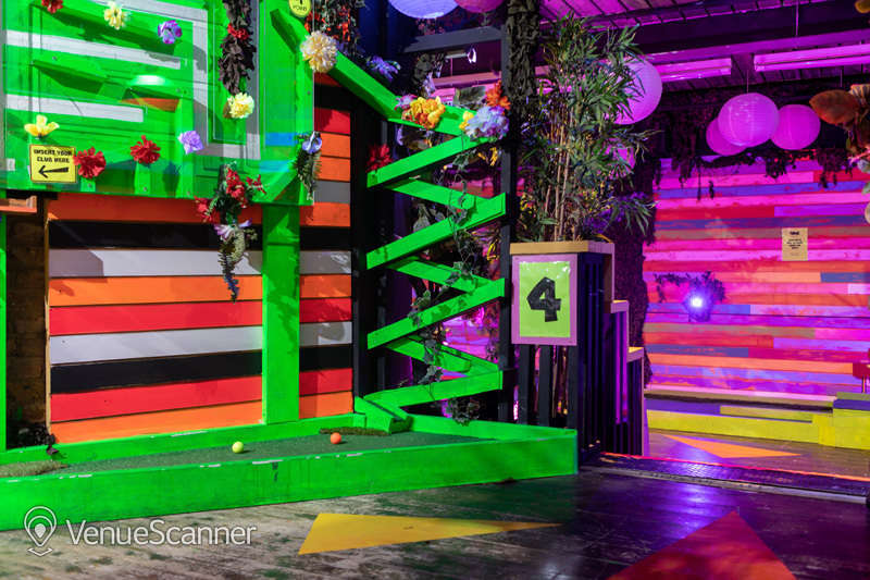 Hire Plonk Crazy Golf Camden The Whole Course 1