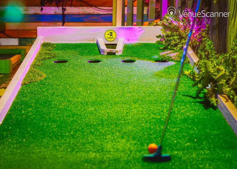 Hire Plonk Crazy Golf Camden The Whole Course 3