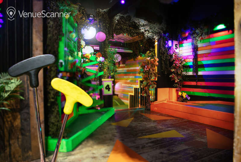 Hire Plonk Crazy Golf Camden The Whole Course