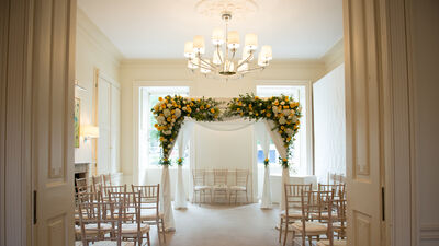 Weddings at No.11 Cavendish Square, The Orangery
