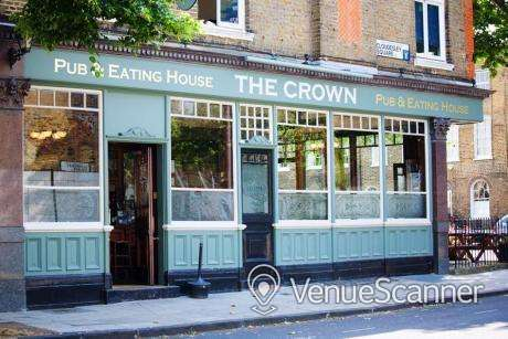 Hire The Crown Outside seating area 2
