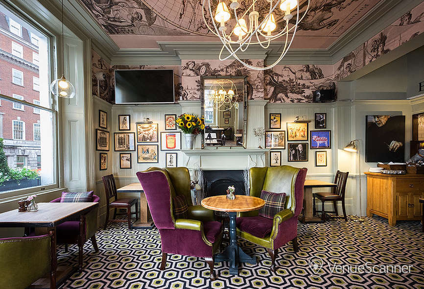 Hire Youngs The Clarence Whitehall Tin Belly Dining Room 2